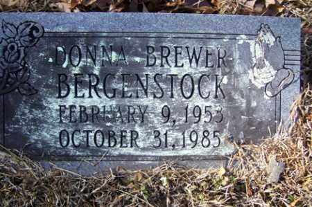 BREWER BERGENSTOCK, DONNA - Crawford County, Arkansas | DONNA BREWER BERGENSTOCK - Arkansas Gravestone Photos