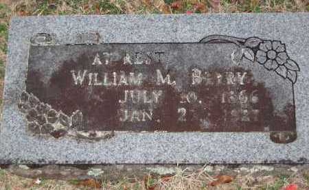 BERRY, WILLIAM M - Crawford County, Arkansas | WILLIAM M BERRY - Arkansas Gravestone Photos