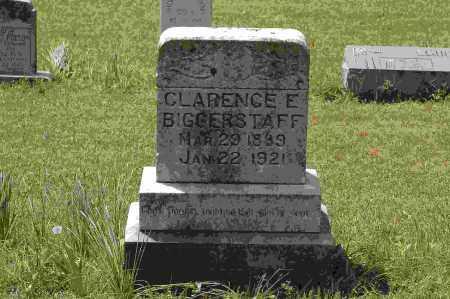 BIGGERSTAFF, CLARENCE E. - Crawford County, Arkansas | CLARENCE E. BIGGERSTAFF - Arkansas Gravestone Photos