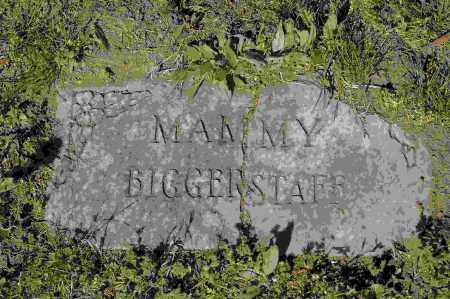 BIGGERSTAFF, MAMMY - Crawford County, Arkansas | MAMMY BIGGERSTAFF - Arkansas Gravestone Photos