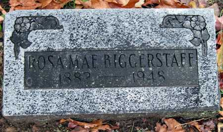 BIGGERSTAFF, ROSA MAE - Crawford County, Arkansas | ROSA MAE BIGGERSTAFF - Arkansas Gravestone Photos