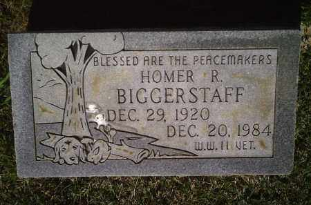 BIGGERSTAFF (VETERAN WWII), HOMER R - Crawford County, Arkansas | HOMER R BIGGERSTAFF (VETERAN WWII) - Arkansas Gravestone Photos