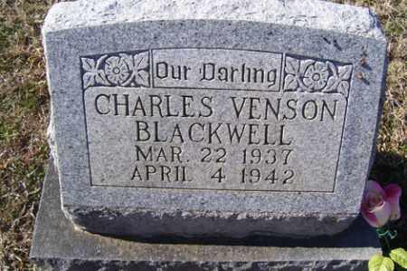 BLACKWELL, CHARLES VENSON - Crawford County, Arkansas | CHARLES VENSON BLACKWELL - Arkansas Gravestone Photos