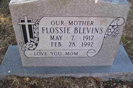 BLEVINS, FLOSSIE - Crawford County, Arkansas | FLOSSIE BLEVINS - Arkansas Gravestone Photos