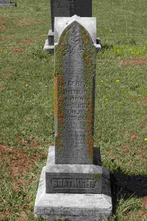 BOATRIGHT, ALBERT B. - Crawford County, Arkansas | ALBERT B. BOATRIGHT - Arkansas Gravestone Photos