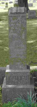 BOATRIGHT, ELIZABETH F. - Crawford County, Arkansas | ELIZABETH F. BOATRIGHT - Arkansas Gravestone Photos