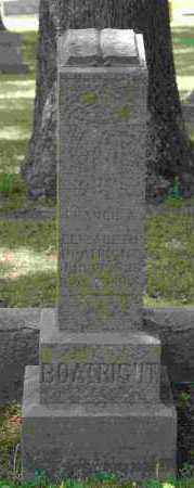 BOATRIGHT, FRANCIS A. - Crawford County, Arkansas | FRANCIS A. BOATRIGHT - Arkansas Gravestone Photos