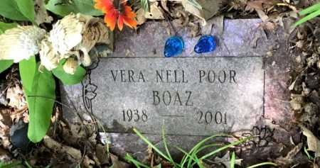 POOR BOAZ, VERA NELL - Crawford County, Arkansas | VERA NELL POOR BOAZ - Arkansas Gravestone Photos