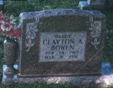 BOWEN, CLAYTON AUGUSTUS - Crawford County, Arkansas | CLAYTON AUGUSTUS BOWEN - Arkansas Gravestone Photos