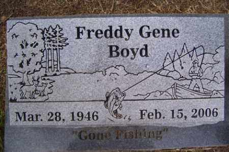 BOYD, FREDDY GENE - Crawford County, Arkansas | FREDDY GENE BOYD - Arkansas Gravestone Photos