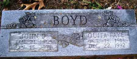 BOYD, OUITA FAYE - Crawford County, Arkansas | OUITA FAYE BOYD - Arkansas Gravestone Photos