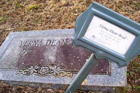 BOYD, VERNA DEAN - Crawford County, Arkansas | VERNA DEAN BOYD - Arkansas Gravestone Photos