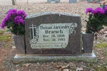 BRANCH, THOMAS - Crawford County, Arkansas | THOMAS BRANCH - Arkansas Gravestone Photos