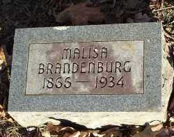 BRANDENBURG, MALISA - Crawford County, Arkansas | MALISA BRANDENBURG - Arkansas Gravestone Photos