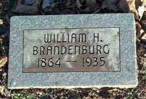 BRANDENBURG, WILLIAM H. - Crawford County, Arkansas | WILLIAM H. BRANDENBURG - Arkansas Gravestone Photos