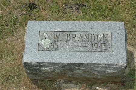 BRANDON, J. W. - Crawford County, Arkansas | J. W. BRANDON - Arkansas Gravestone Photos