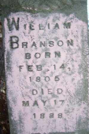 BRANSON, WILLIAM - Crawford County, Arkansas | WILLIAM BRANSON - Arkansas Gravestone Photos