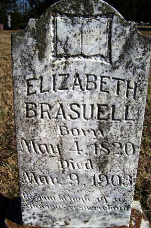 BRASUELL, ELIZABETH - Crawford County, Arkansas | ELIZABETH BRASUELL - Arkansas Gravestone Photos
