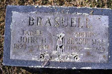 BRASUELL, JOHN H - Crawford County, Arkansas | JOHN H BRASUELL - Arkansas Gravestone Photos