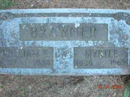 BRAWNER, WILLIAM E. - Crawford County, Arkansas | WILLIAM E. BRAWNER - Arkansas Gravestone Photos