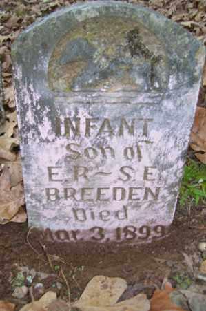BREEDEN, INFANT SON - Crawford County, Arkansas | INFANT SON BREEDEN - Arkansas Gravestone Photos