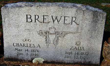 BREWER, CHARLES A - Crawford County, Arkansas | CHARLES A BREWER - Arkansas Gravestone Photos