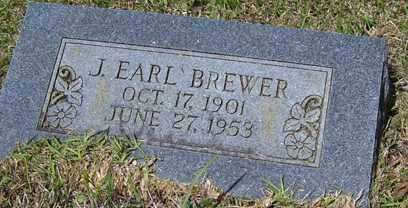 BREWER, JOHNNIE EARL - Crawford County, Arkansas | JOHNNIE EARL BREWER - Arkansas Gravestone Photos