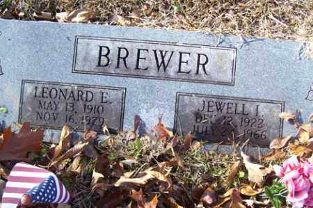MITCHELL BREWER, JEWELL I - Crawford County, Arkansas | JEWELL I MITCHELL BREWER - Arkansas Gravestone Photos