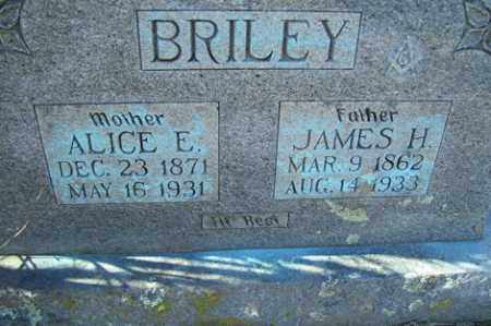 BRILEY, JAMES H - Crawford County, Arkansas | JAMES H BRILEY - Arkansas Gravestone Photos