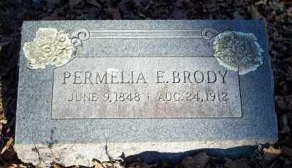 BRODY, PERMELIA E. - Crawford County, Arkansas | PERMELIA E. BRODY - Arkansas Gravestone Photos