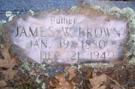 BROWN, JAMES W - Crawford County, Arkansas | JAMES W BROWN - Arkansas Gravestone Photos