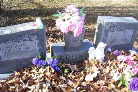 BROWN, ZELLA M - Crawford County, Arkansas | ZELLA M BROWN - Arkansas Gravestone Photos