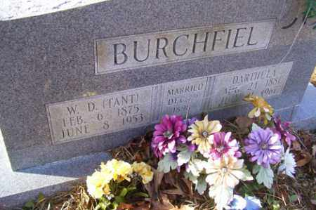 BURCHFIEL, DARTHULA - Crawford County, Arkansas | DARTHULA BURCHFIEL - Arkansas Gravestone Photos