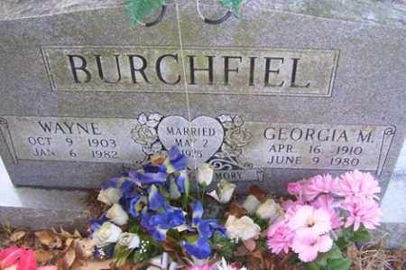 BURCHFIEL, GEORGIA MINNIE - Crawford County, Arkansas | GEORGIA MINNIE BURCHFIEL - Arkansas Gravestone Photos