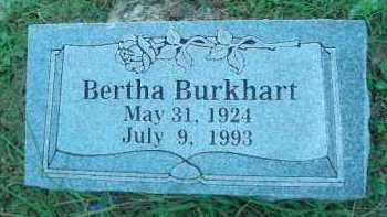 BURKHART, BERTHA V - Crawford County, Arkansas | BERTHA V BURKHART - Arkansas Gravestone Photos