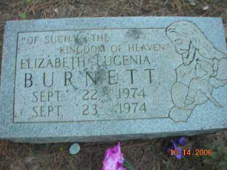 BURNETT, ELIZABETH EUGENIA - Crawford County, Arkansas | ELIZABETH EUGENIA BURNETT - Arkansas Gravestone Photos