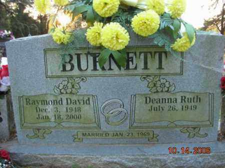 BURNETT, RAYMOND DAVID - Crawford County, Arkansas | RAYMOND DAVID BURNETT - Arkansas Gravestone Photos