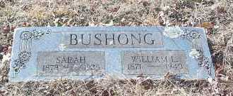 BUSHONG, SARAH - Crawford County, Arkansas | SARAH BUSHONG - Arkansas Gravestone Photos