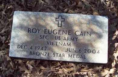 CAIN (VETERAN VIET), ROY EUGENE - Crawford County, Arkansas | ROY EUGENE CAIN (VETERAN VIET) - Arkansas Gravestone Photos