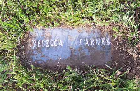 CARNES, REBECCA - Crawford County, Arkansas | REBECCA CARNES - Arkansas Gravestone Photos