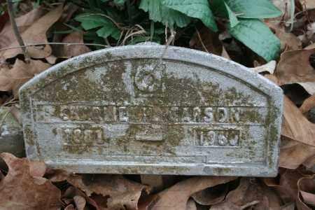 CARSON, CHARLIE - Crawford County, Arkansas | CHARLIE CARSON - Arkansas Gravestone Photos