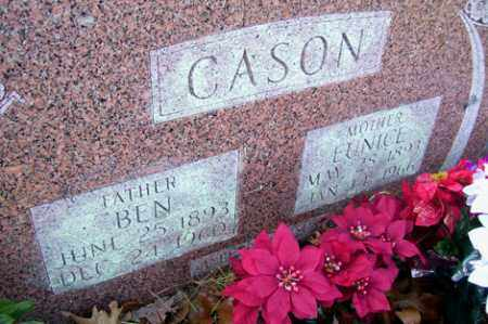 CASON, EUNICE - Crawford County, Arkansas | EUNICE CASON - Arkansas Gravestone Photos