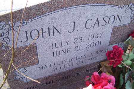 CASON, JOHN J - Crawford County, Arkansas | JOHN J CASON - Arkansas Gravestone Photos