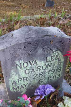 CASON, NOVA LEE - Crawford County, Arkansas | NOVA LEE CASON - Arkansas Gravestone Photos