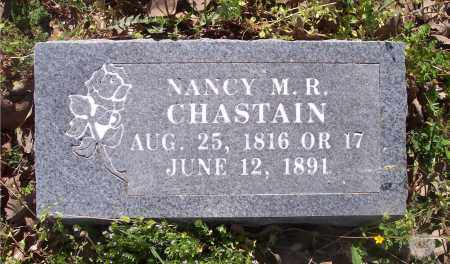 CHASTAIN, NANCY M R - Crawford County, Arkansas | NANCY M R CHASTAIN - Arkansas Gravestone Photos