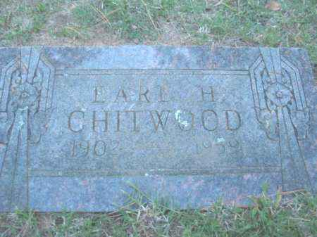 CHITWOOD, EARL HERBERT - Crawford County, Arkansas | EARL HERBERT CHITWOOD - Arkansas Gravestone Photos