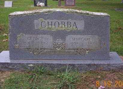 CHOBBA, GEORGE - Crawford County, Arkansas | GEORGE CHOBBA - Arkansas Gravestone Photos