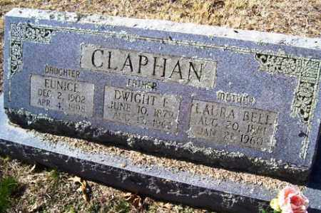 CLAPHAN, DWIGHT ELZIE - Crawford County, Arkansas | DWIGHT ELZIE CLAPHAN - Arkansas Gravestone Photos