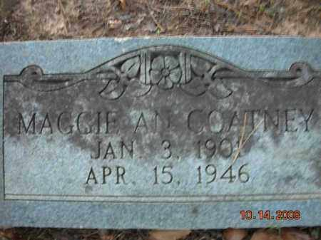 COATNEY, MAGGIE AN - Crawford County, Arkansas | MAGGIE AN COATNEY - Arkansas Gravestone Photos