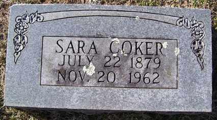 COKER, SARAH MELVINA - Crawford County, Arkansas | SARAH MELVINA COKER - Arkansas Gravestone Photos